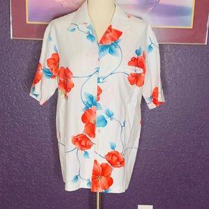 Hilo Hatties Button Down Shirt•SZ L